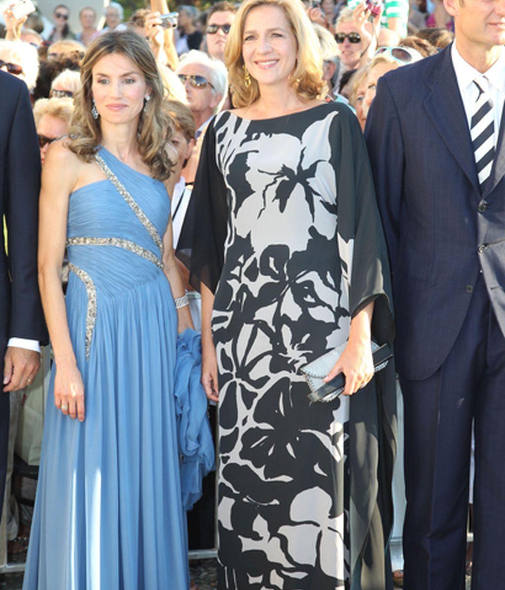 Doña Letizia y Doña Cristina