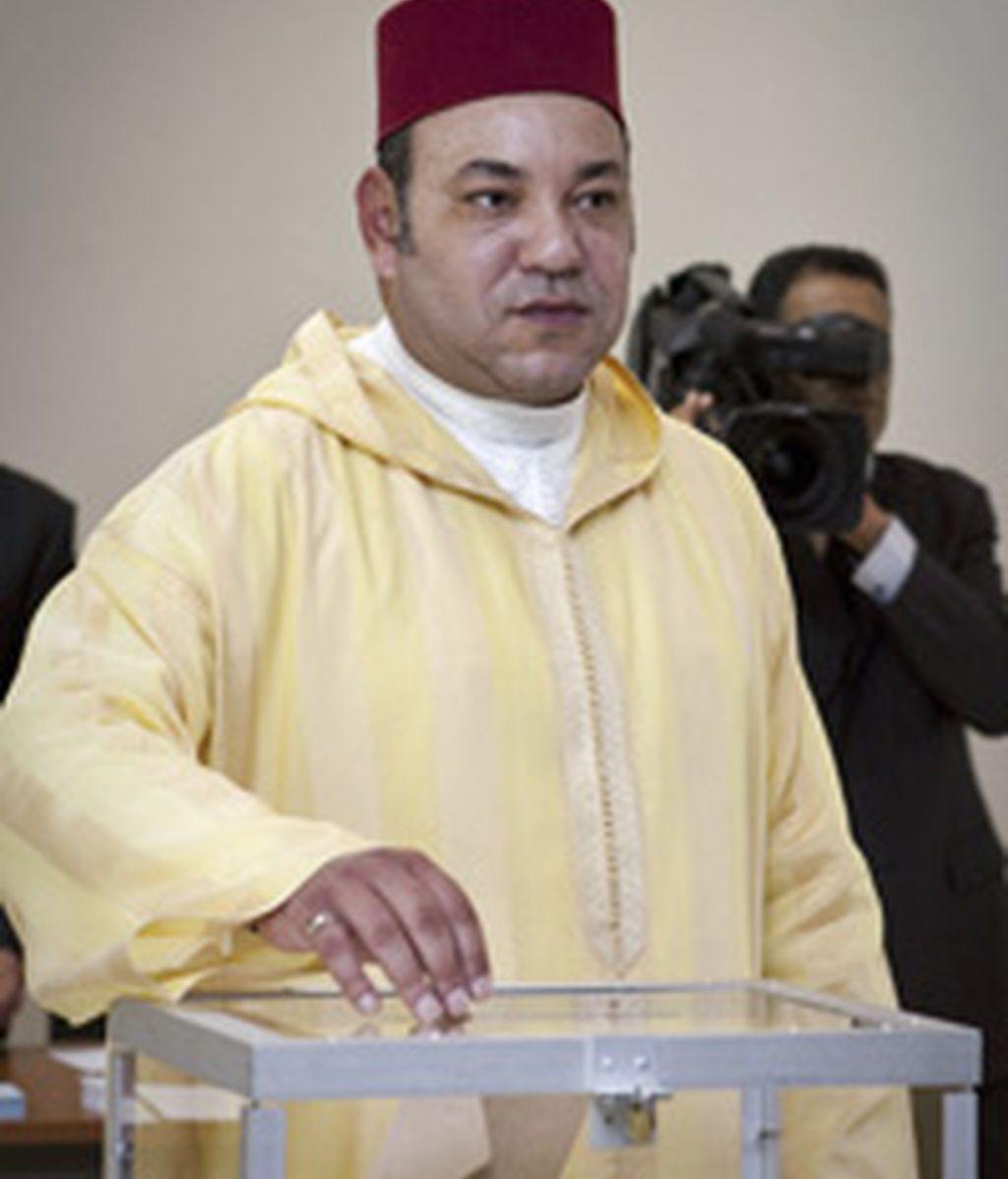 El Rey Mohamed VI de Marruecos dice si a la Constitución FOTO: EFE