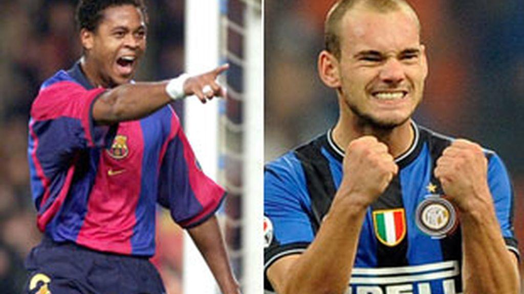 Patrick Kluivert y Wesley Sneijder han denunciado un robo en Ibiza.