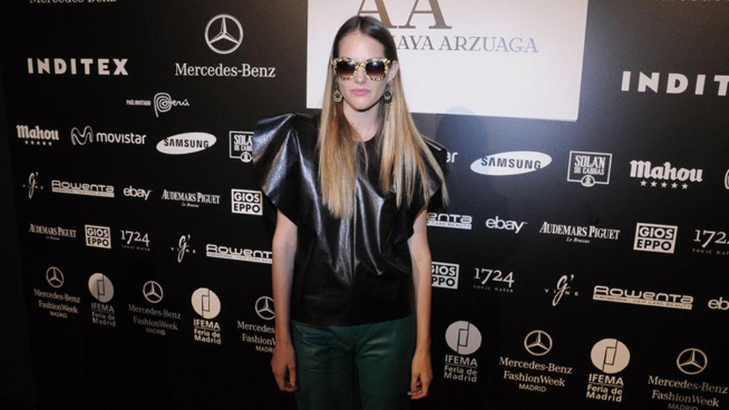 La modelo Marina Jamieson