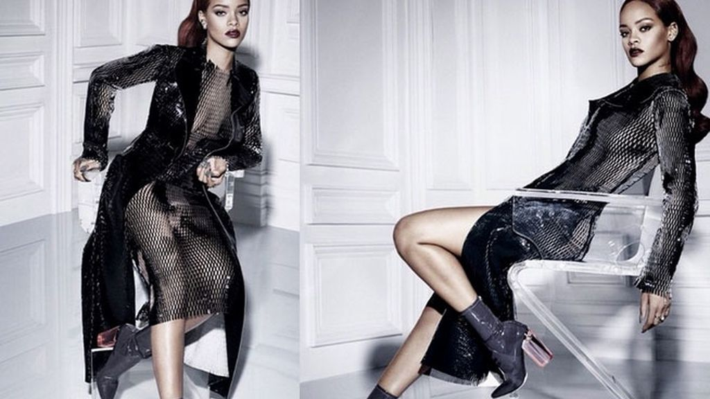 Rihanna, Campaña Dior, Riri, Craig McDean, Rihanna sin ropa interior
