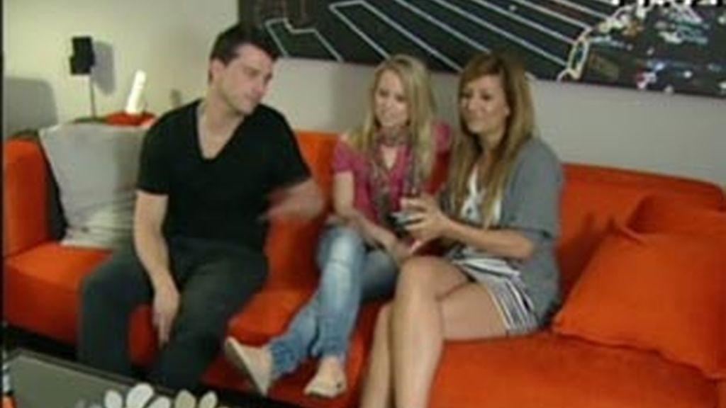 Arturo, Nagore y Tatiana