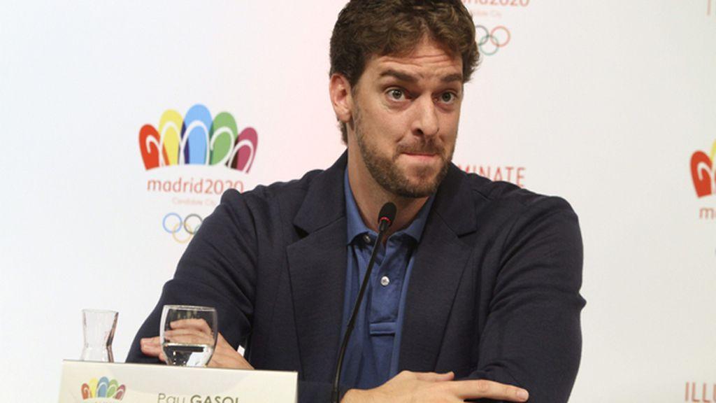 """Gasol: """"Madrid 2020 es una candidatura muy fuerte y no tiene riesgo para el COI"""""""