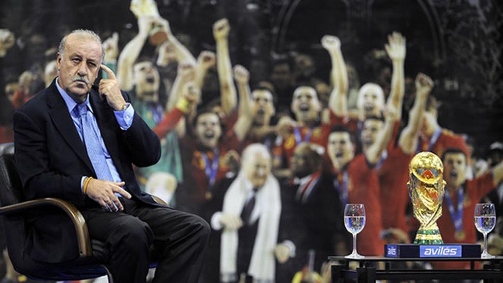 Mañana ante Portugal los de Del Bosque estrenarán su nueva camiseta que les acredita como los actuales campeones del mundo
