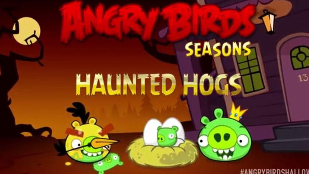 angry birds, angry birds Halloween