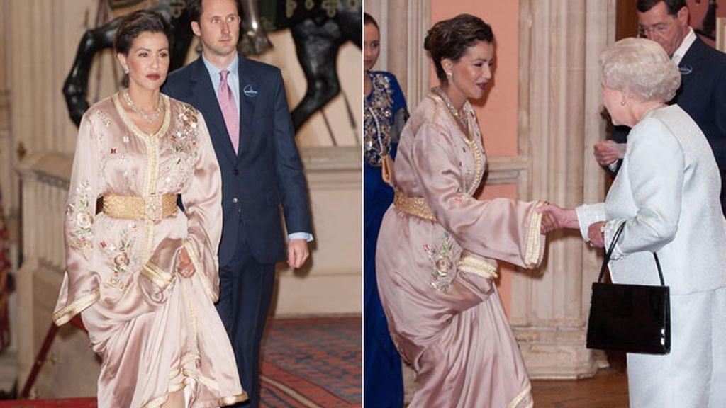 La princesa Lalla Meryem de Marruecos