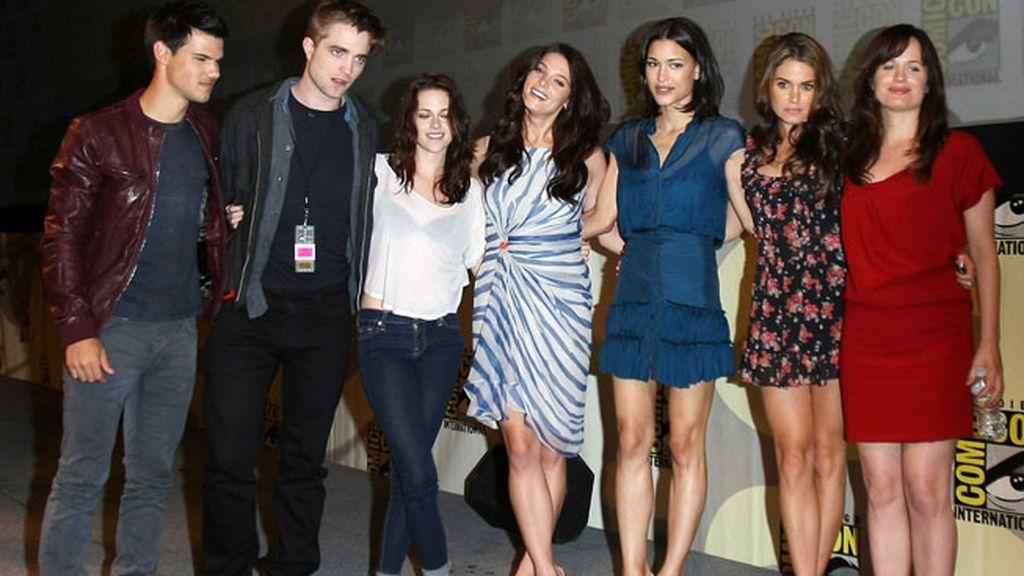 Los protagonistas de 'Crepúsculo', en la Comic-con de San Diego