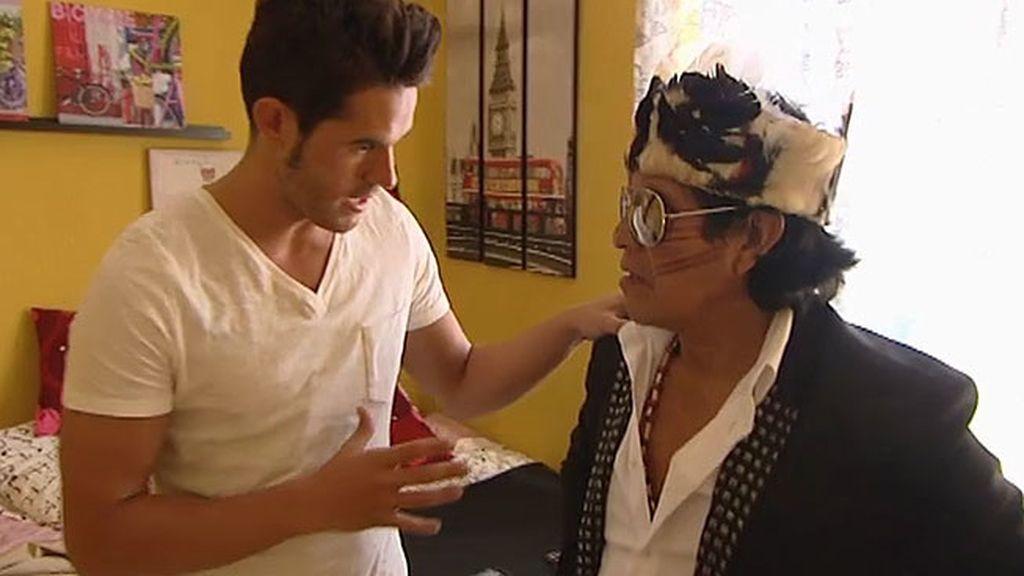 """Víctor: """"Guirar es un tío muy guapo"""""""
