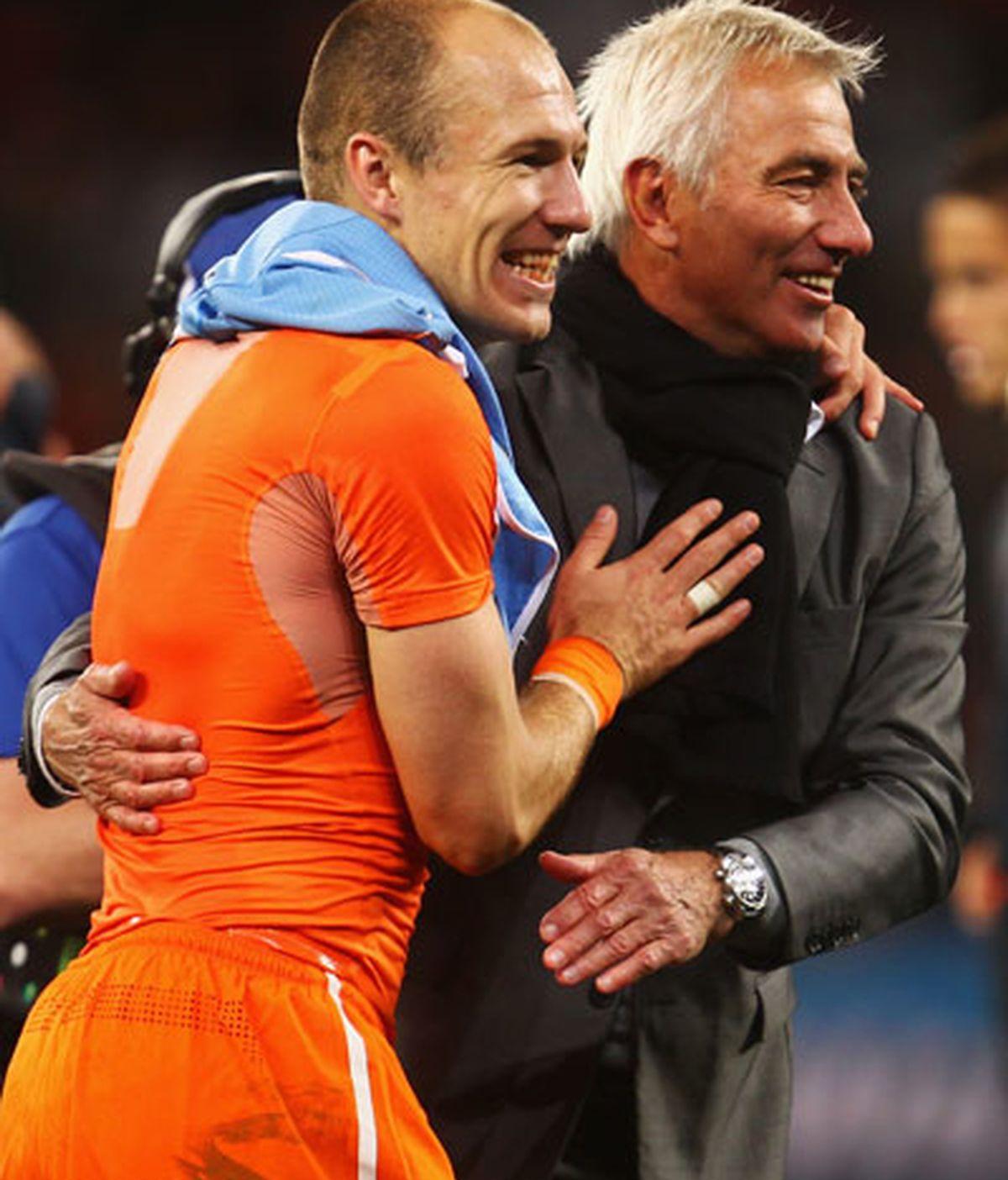 Van Marwijk confiado en ganar el primer Mundial para Holanda