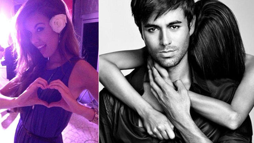 Es fan de Enrique Iglesias, postea sus fotos y canciones y no falta a sus conciertos