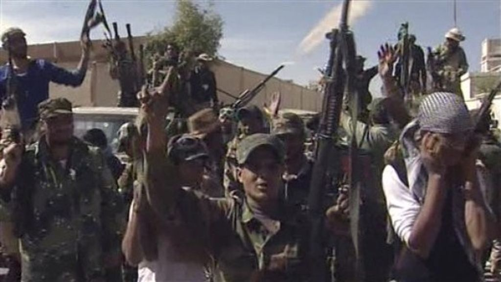 La caída de Muamar Gadafi