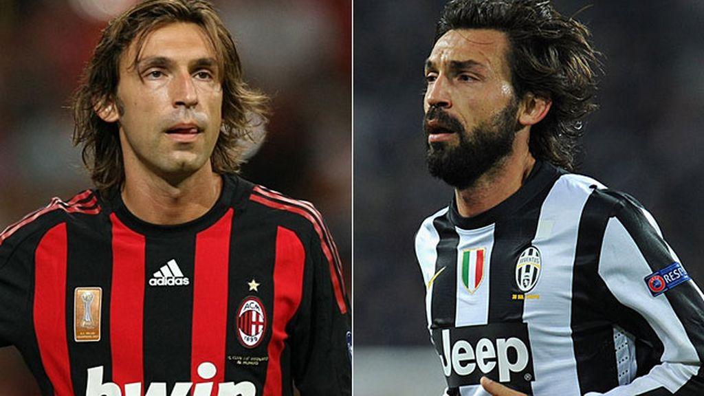 Pirlo: Escapó del Milan en pleno naufragio para comandar a la Juventus