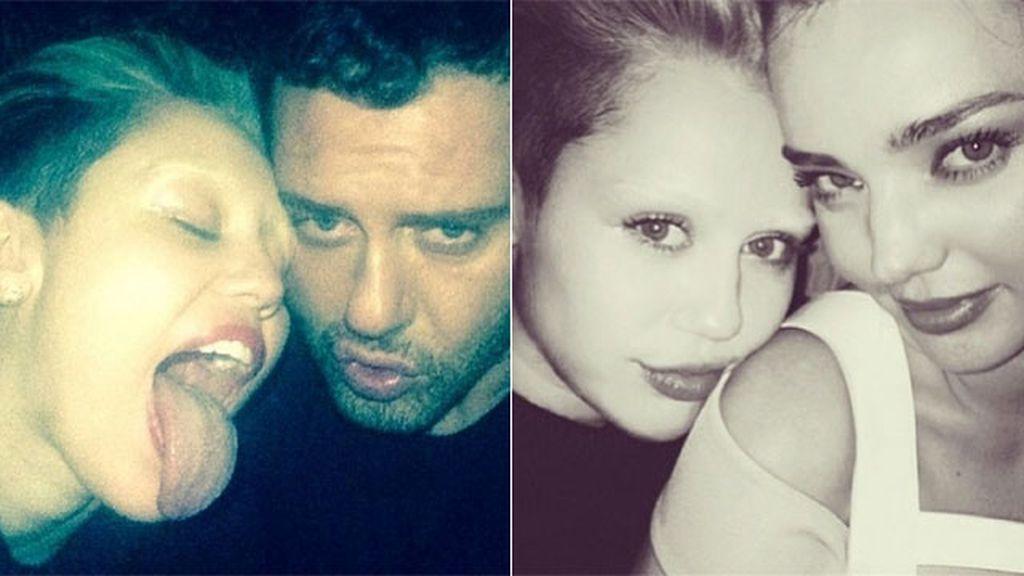 Miley Cyrus ¿dice adiós a sus cejas?