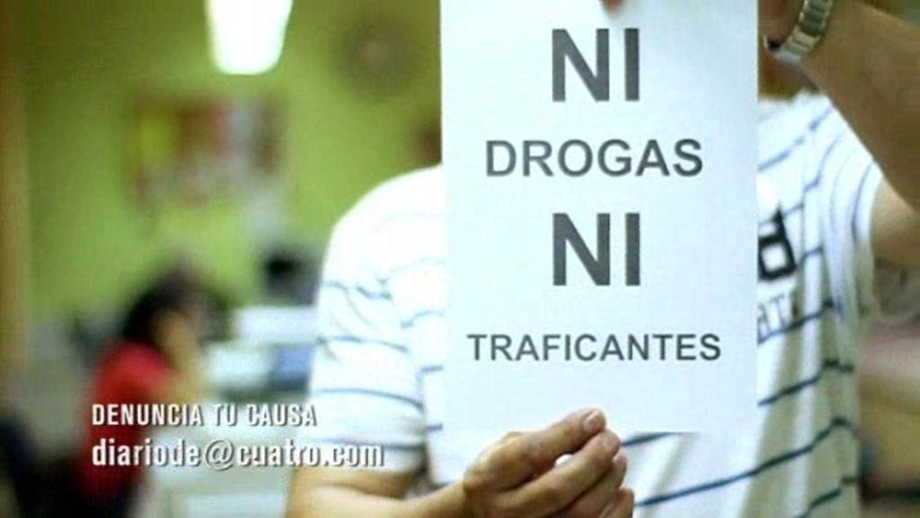 Ruta de la droga en Trinitat Vella