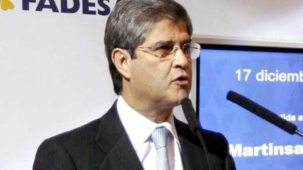 Foto de archivo de Fernando Martín,  presidente de la inmobiliaria Martinsa-Fadesa. Foto: EFE