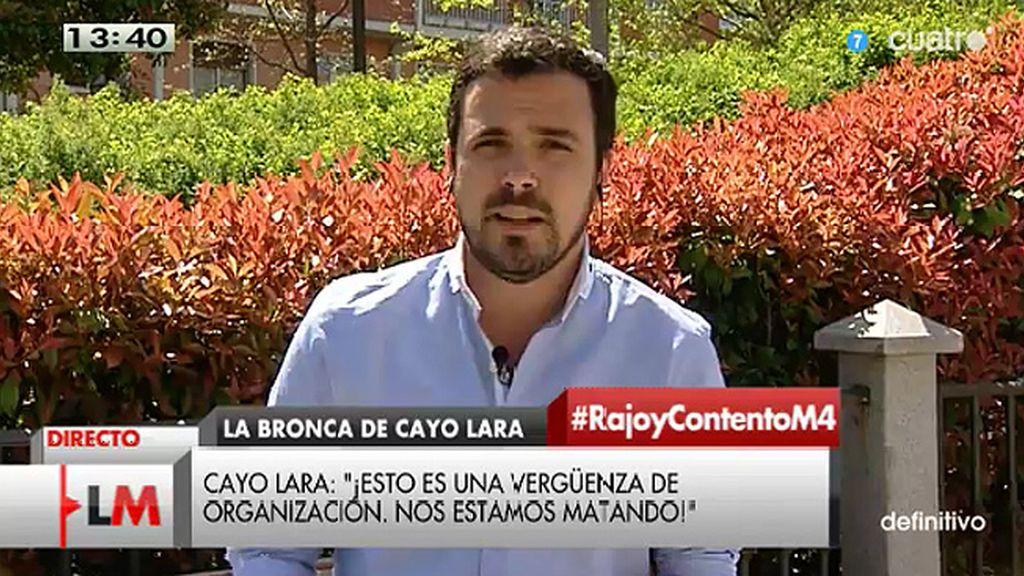 """A. Garzón: """"Vemos en las encuestas que ninguna formación de izquierdas puede en solitario, hay que ponerse de acuerdo"""""""