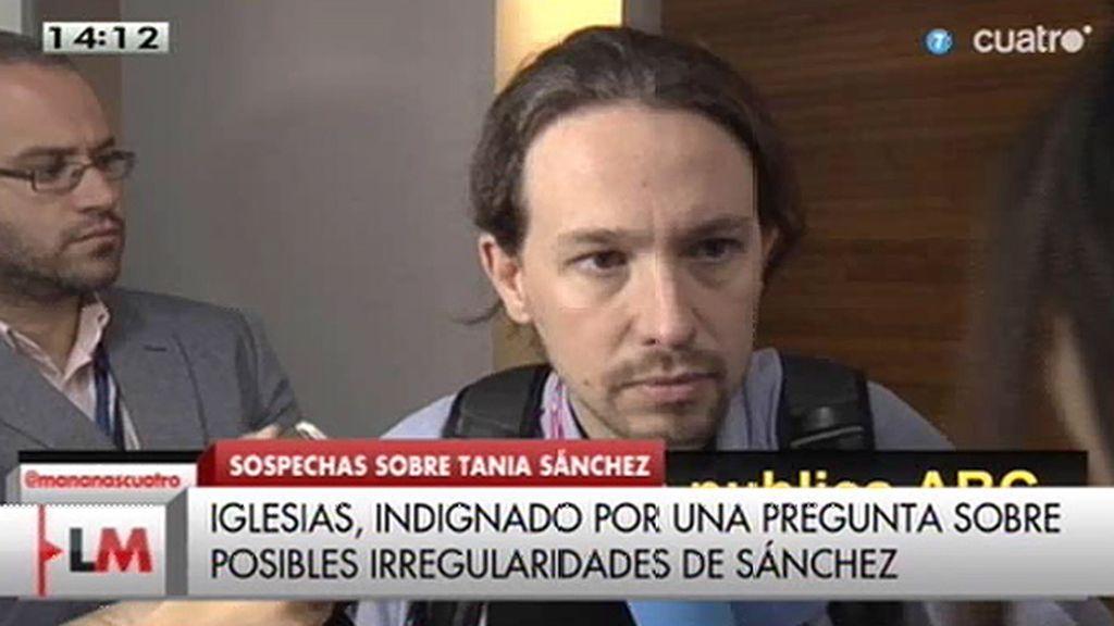 """Pablo Iglesias: """"No me cabe ninguna duda de la honorabilidad de Tania Sánchez"""""""