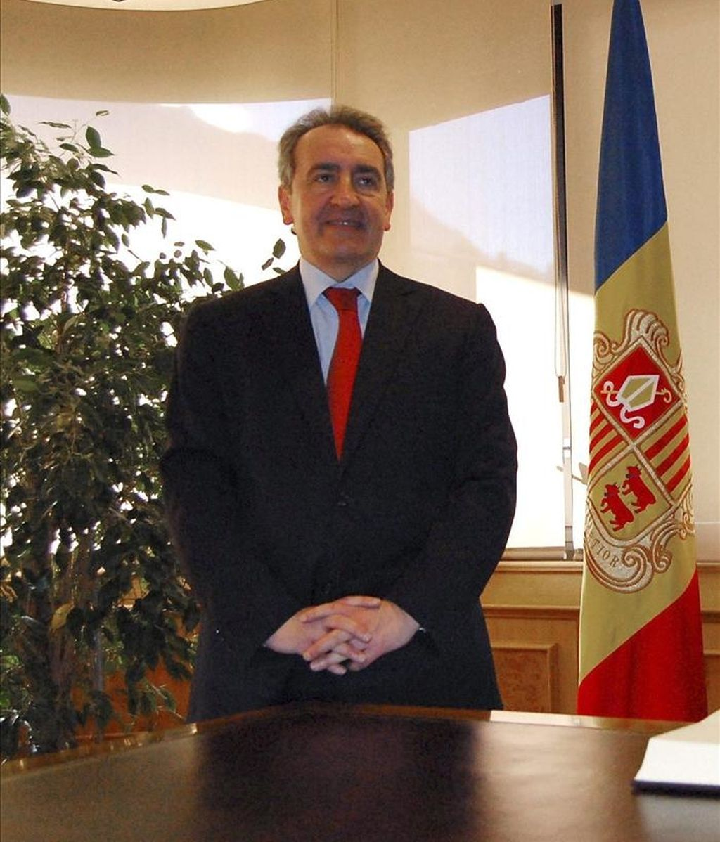 En la imagen, el presidente del Gobierno de Andorra, Jaume Bartumeu. EFE/Archivo