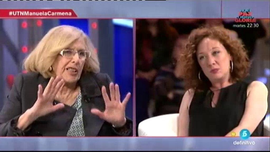 """Manuela Carmena: """"Hay que sumar grandes mayorías para llegar a la igualdad"""""""