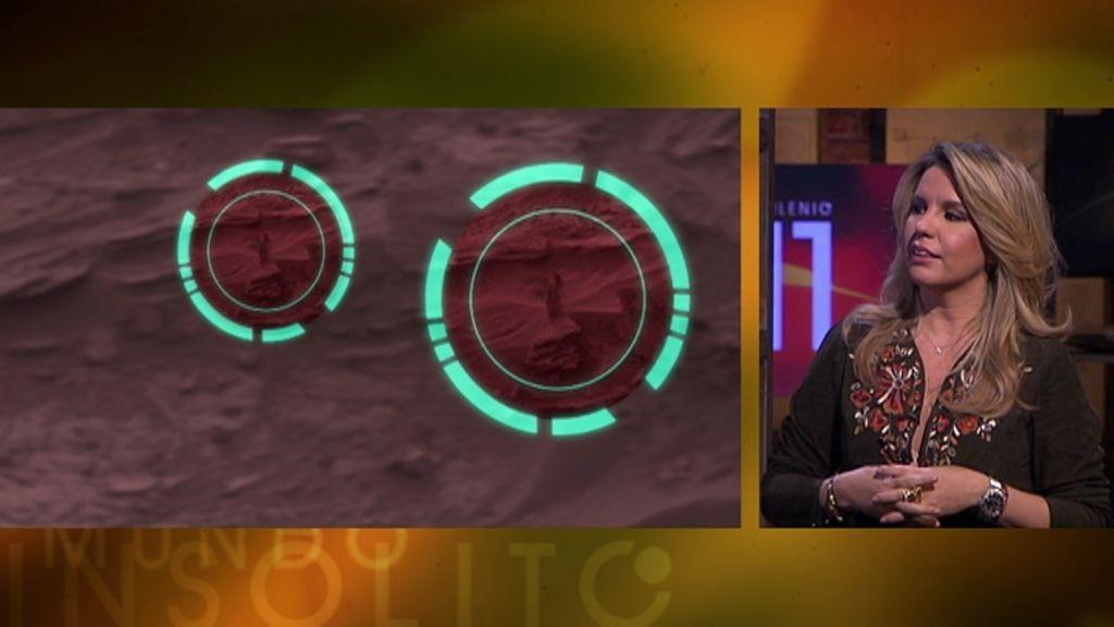 Furgonetas que levitan, un ratón y una mujer en Marte, y un lobo de nieve en China