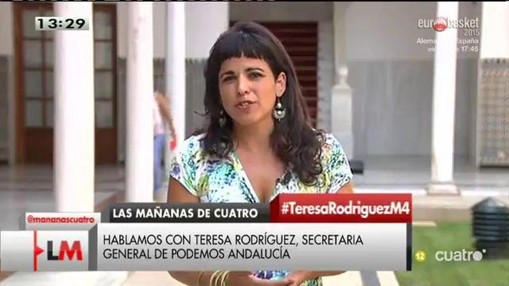 La entrevista con Teresa Rodríguez, online