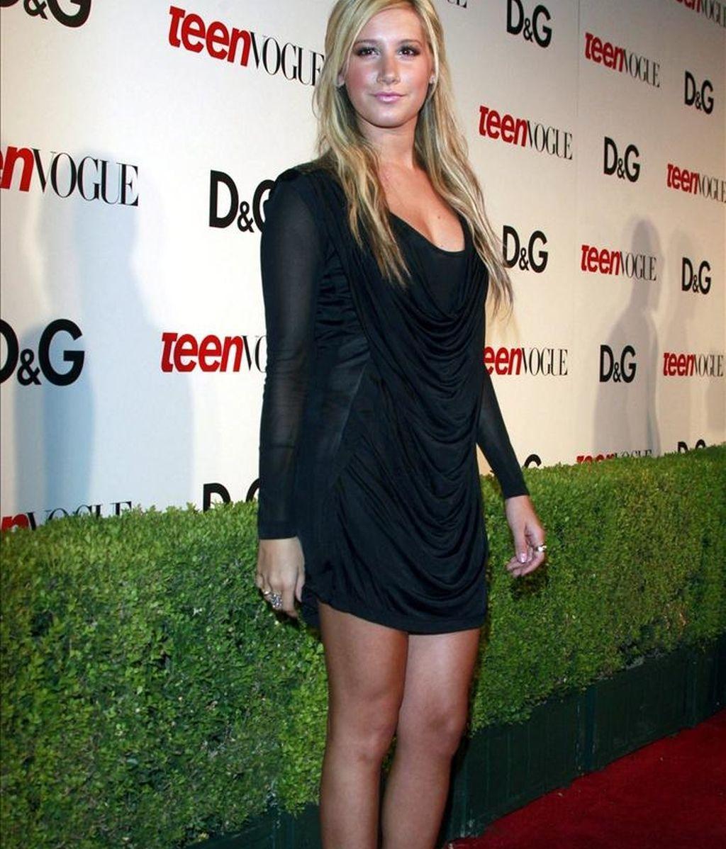 La actriz y cantante estadounidense Ashley Tisdale. EFE/Archivo
