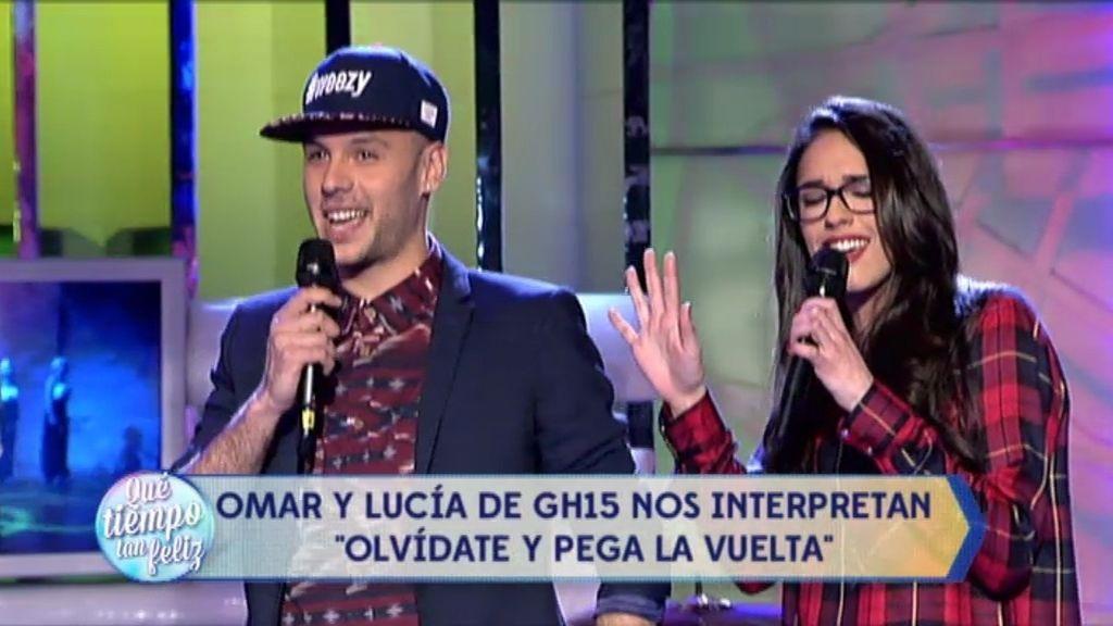 Omar y Lucía de GH cantan 'Olvídate y pega la vuelta' de Pimpinela en ¡QTTF!