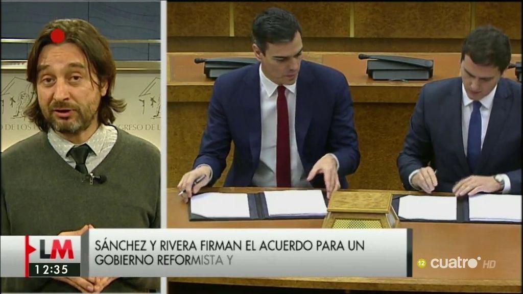 """Rafael Mayoral: """"Sánchez prefirió salir corriendo a buscar a Rivera y a Garicano"""""""