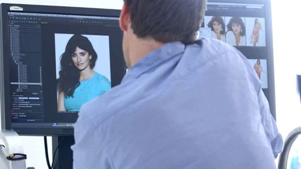 Fotógrafos, trípodes de cámaras y primeros planos para evitar enfocar su tripa