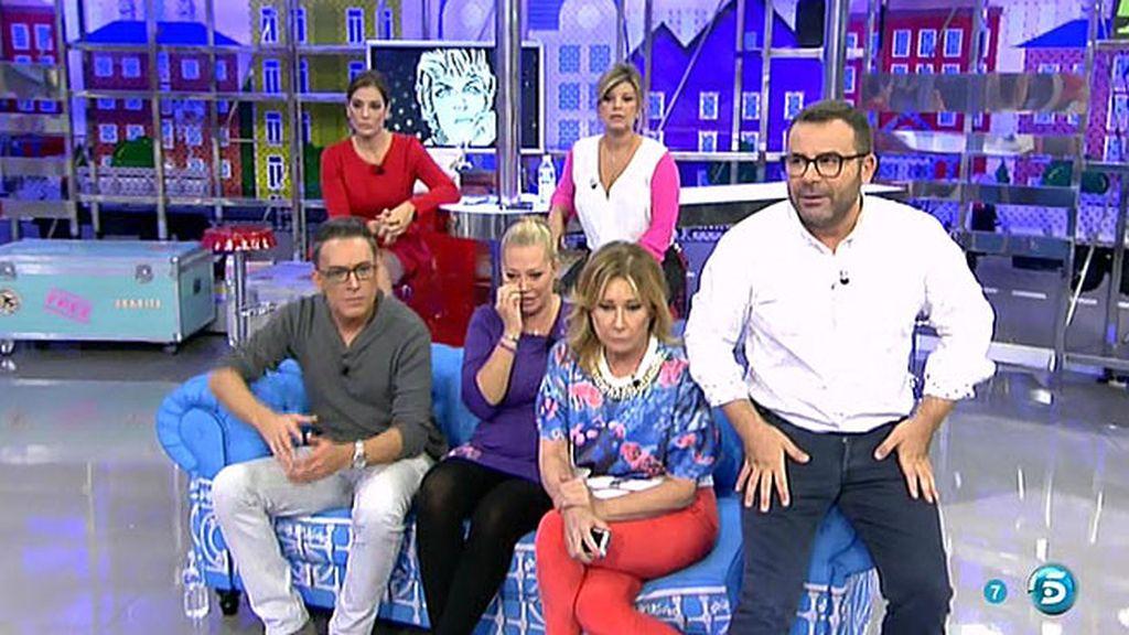 Jorge Javier afirma que 'Sálvame' es como un grupo de 'Whatsapp'