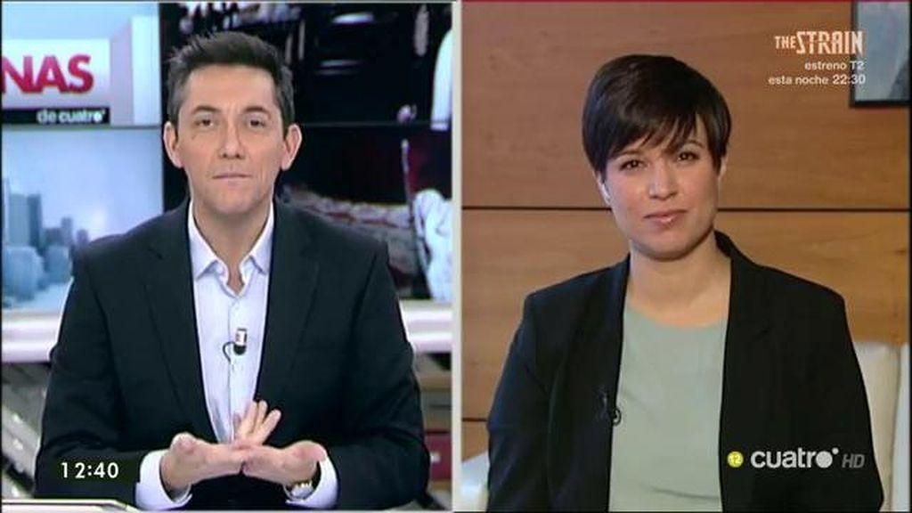 """Talegón: """"Creo que Carolina Bescansa quería ser noticia y lo ha conseguido"""""""