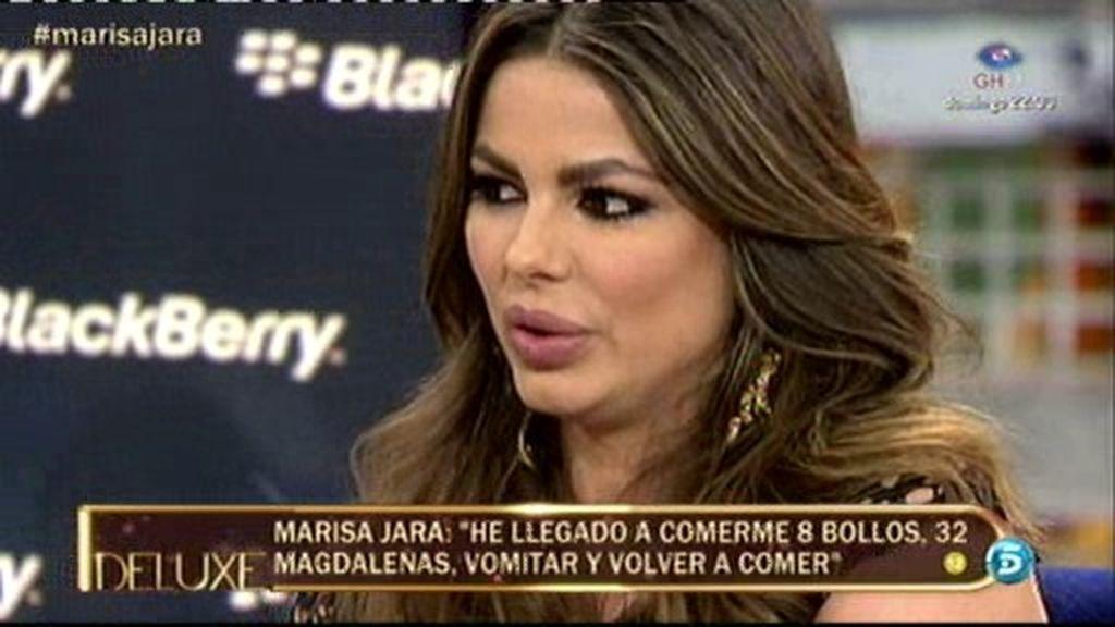 """Marisa Jara se sincera: """"Llevo años luchando contra la bulimia"""""""