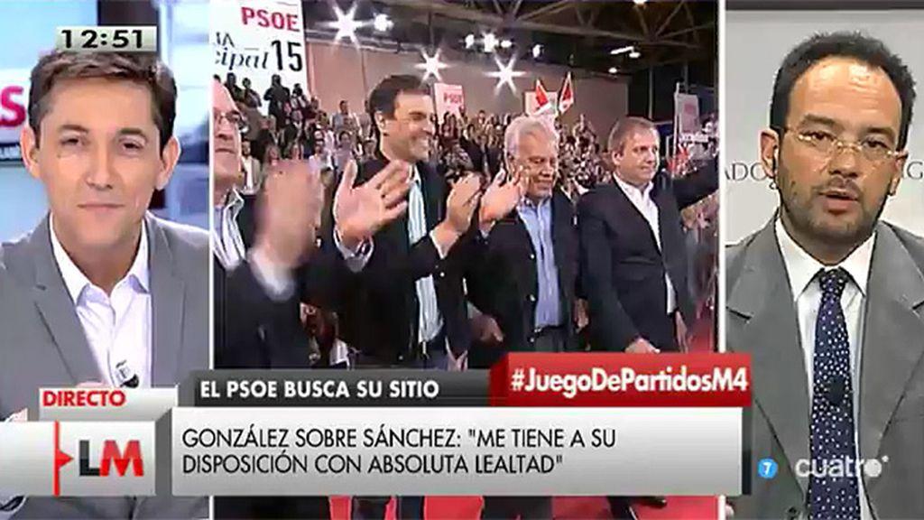"""Antonio Hernando: """"En el PSOE mandan los militantes"""""""