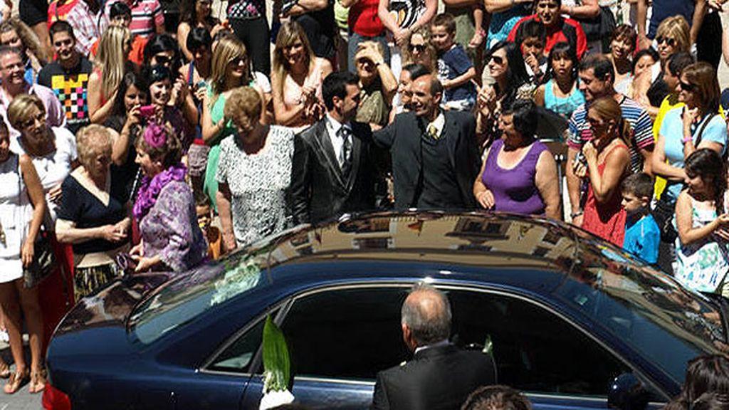 La boda colapsó las calles de San Miguel