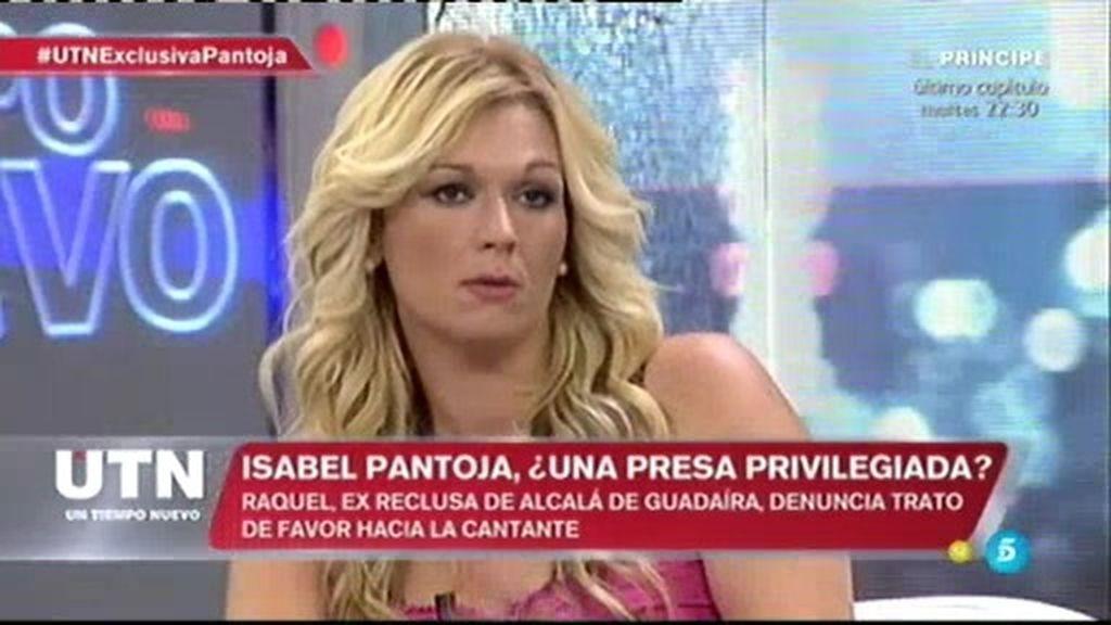 """Raquel Martínez, expresa: """"Isabel Pantoja tiene comida en la celda"""""""