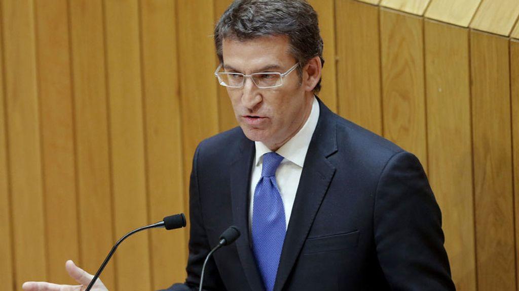 Debate de investidura de Feijóoen el parlamento de Galicia