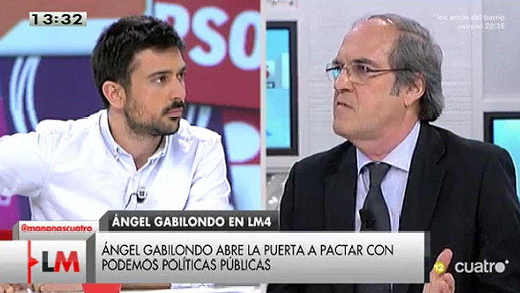 """Ángel Gabilondo: """"No excluyo a nadie para buscar un acuerdo para hacer políticas públicas, sociales y eficientes"""""""