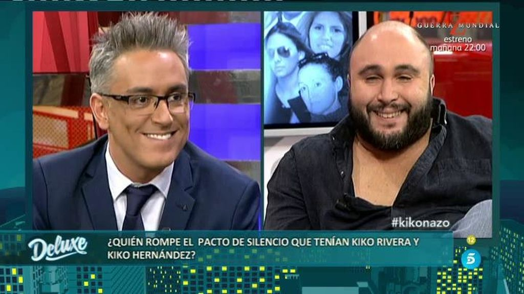 "Kiko Rivera, a Kiko Hernández: ""Siento un odio tremendo hacia ti"""