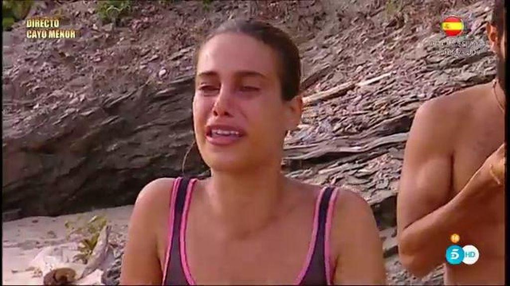 """Carla se derrumba al escuchar a su hermana: """"Te quiero mucho, sigue así"""""""
