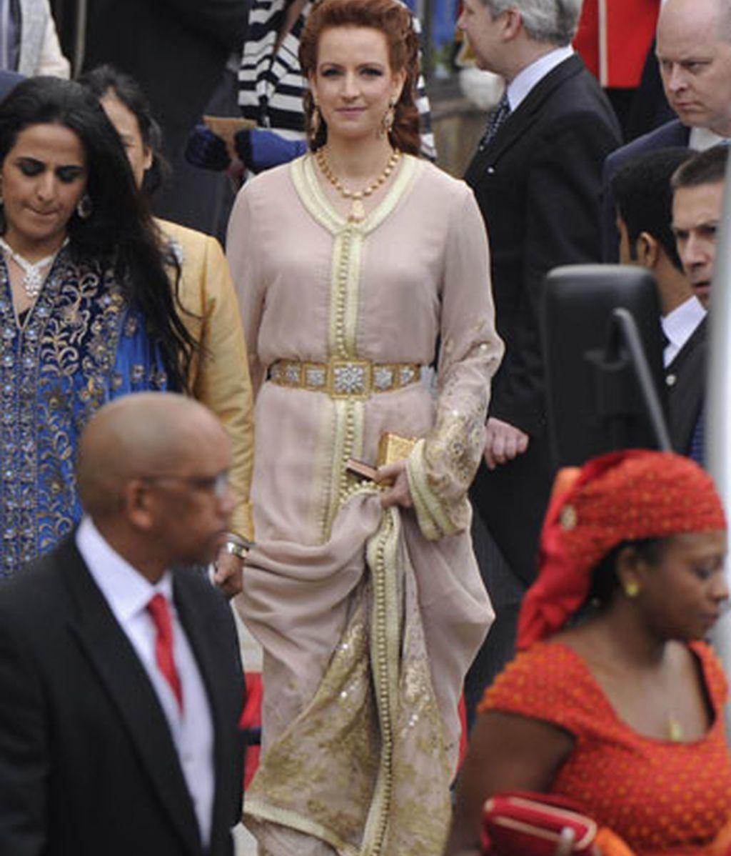 La princesa Lala Salma de Marruecos