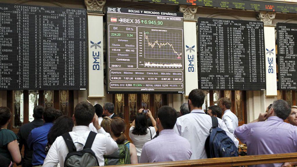 Euforia en la Bolsa