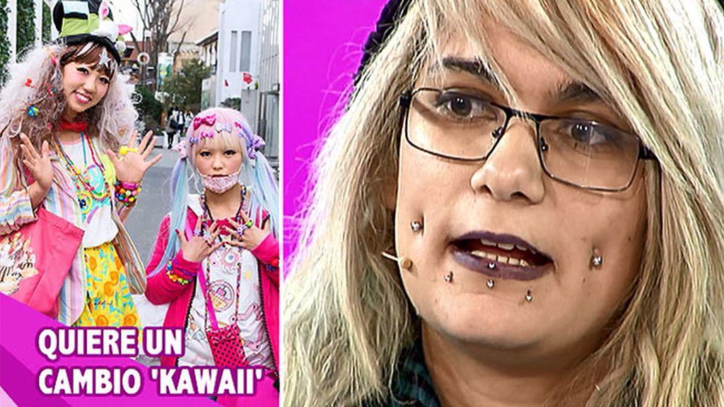Raquel quiere un cambio 'kawaii'