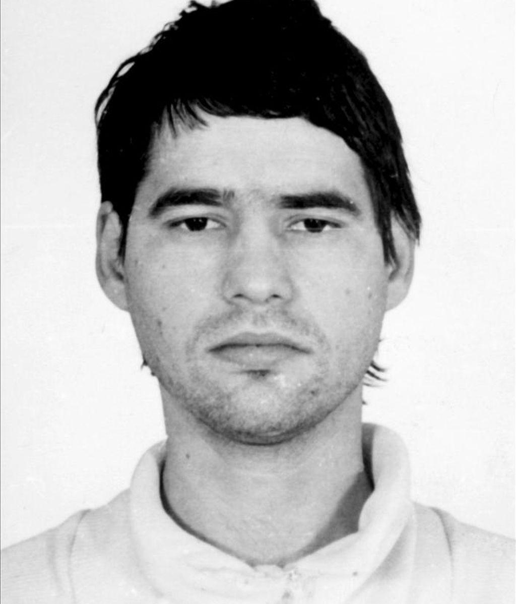 Fotografía de archivo (años ochenta, sin fecha) del etarra Antonio Troitiño, condenado a más de 2.200 años de prisión por más de veinte asesinatos en los años 80. EFE/Archivo