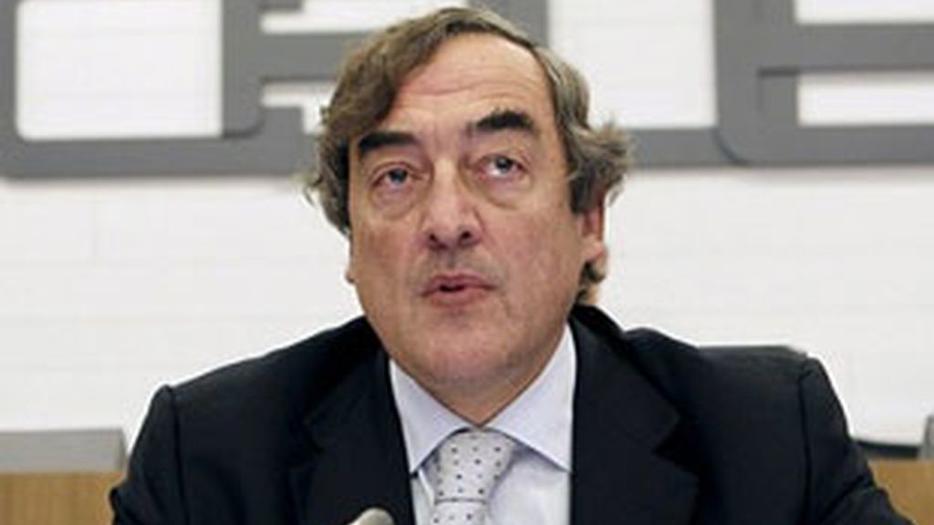 Imagen de archivo del presidente de CEOE, Juan Rosell. Foto: EFE.