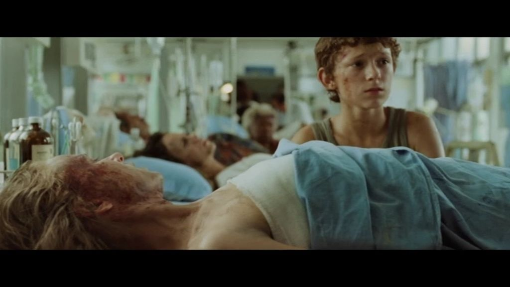 Secuencia inédita en la que María permanece ingresada en el hospital