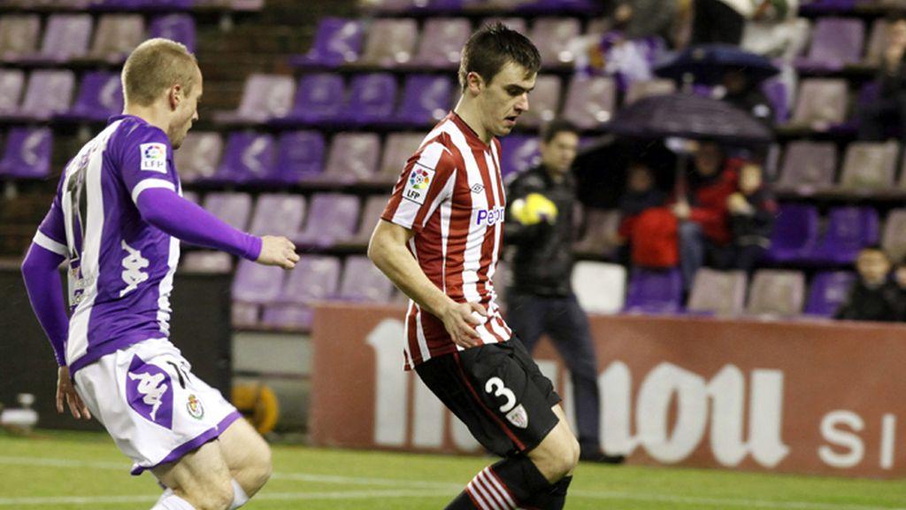 Bilbao y Valladolid empatan a dos goles