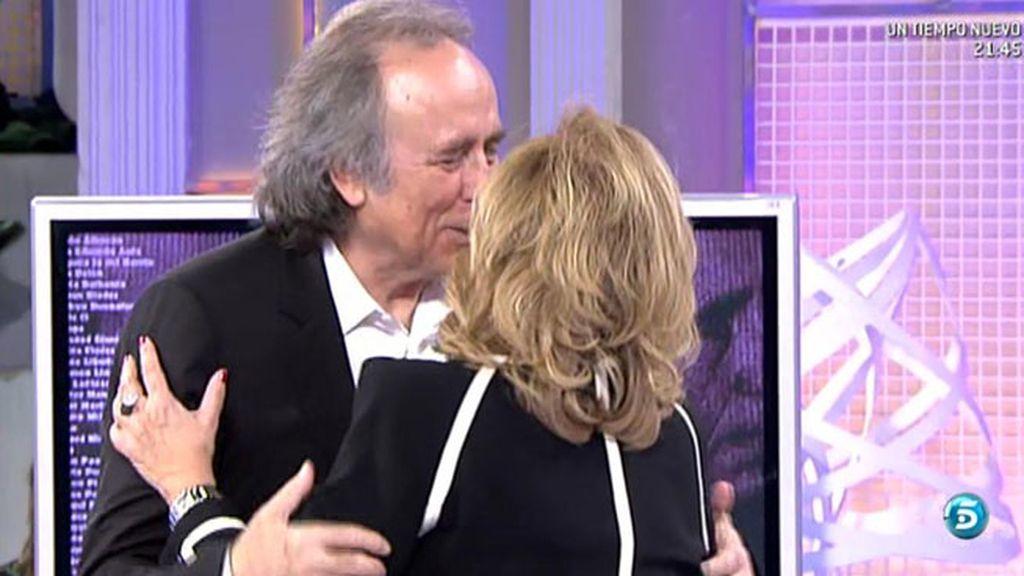 """MªTeresa Campos: """"Hay un grado superior al del afecto, ahí está Serrat"""""""
