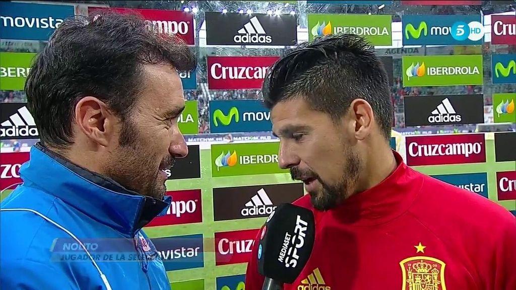 """Nolito: """"Hay mucho nivel, pero soñar es gratis"""""""