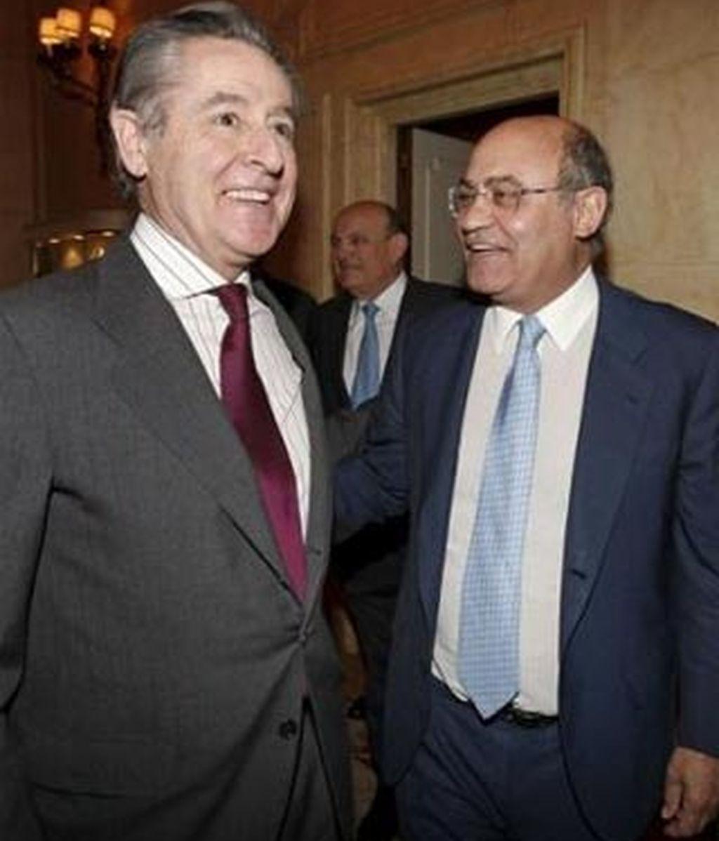 Miguel Angel Blesa y Díaz Ferrán