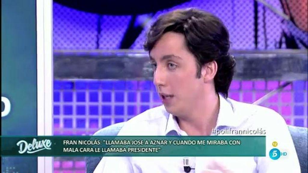 """""""A Aznar le llamaba Jose, menos cuando se enfadaba que le llamaba presidente"""""""